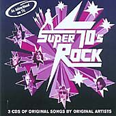 Various Artists : Super 70s Rock: 3 Cds of Original Songs CD Fast and FREE P & P
