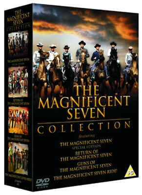 The Magnificent Seven Collection DVD (2001) Yul Brynner