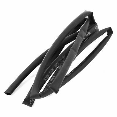 1M Length Electric Wire Cable Heat Shrink Tubing Tube Wrap Sleeve Black