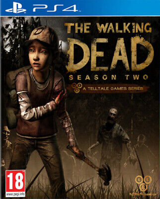 The Walking Dead: Season Two (PS4) PEGI 18+ Adventure: Point and Click