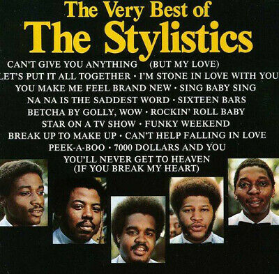 The Stylistics : The Very Best Of CD (1990)