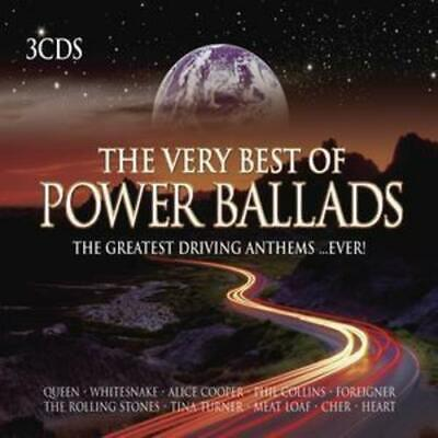 Various Artists : The Very Best of Power Ballads CD (2005)