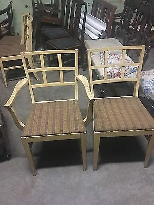 Set Of 4 50's Chairs For Your Dining Room Shipping Ok