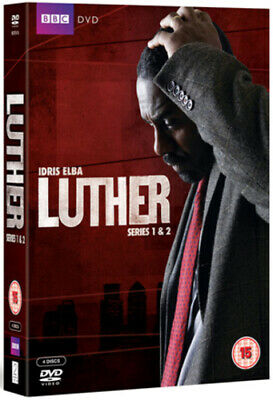 Luther: Series 1 and 2 DVD (2011) Idris Elba