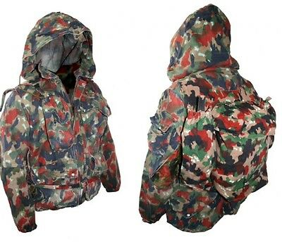 1) Heavyweight Genuine Military Parka Jacket & Built in Back Pack Army Surplus
