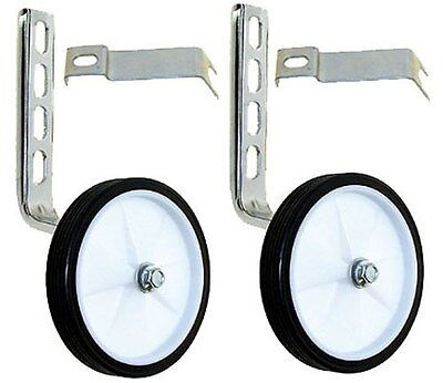 """M-Wave Bicycle Training Wheels For children's bikes Fits 12"""" to 20"""" bikes NEW .."""