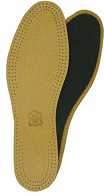 LEATHER FULL LENGTH INSOLES - SIZE 10/11 Eur 44/45