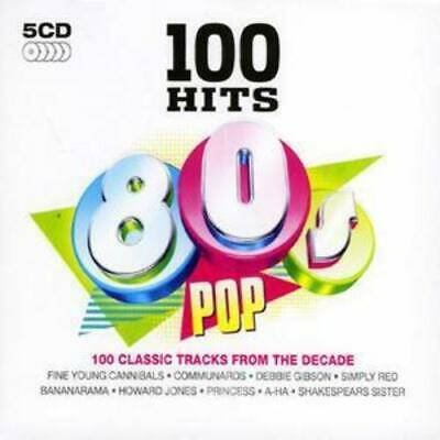 Various Artists : 100 Hits: 80s Pop CD (2008)