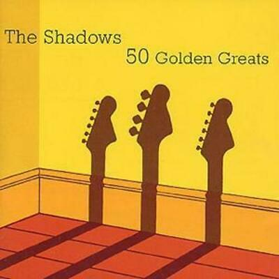 The Shadows : 50 Golden Greats CD 2 discs (2000) Expertly Refurbished Product