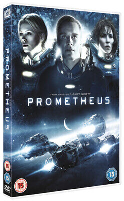 Prometheus DVD (2012) Charlize Theron, Scott (DIR) cert 15 Fast and FREE P & P