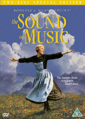 The Sound of Music DVD (2004) Julie Andrews, Wise (DIR) cert U 2 discs