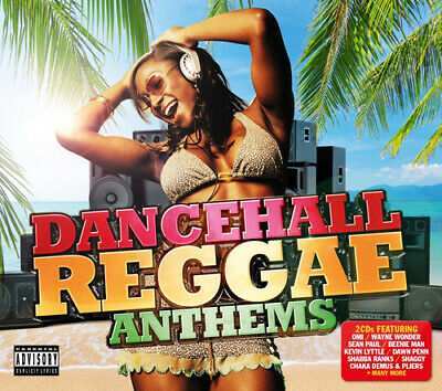 Various Artists : Dancehall Reggae Anthems CD (2015)
