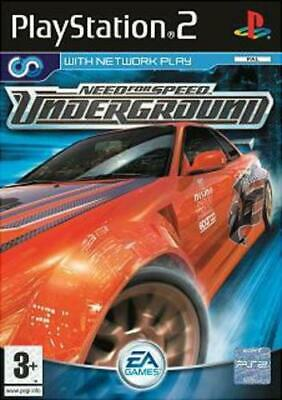 Need for Speed: Underground (PS2) VideoGames
