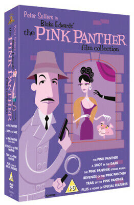 The Pink Panther Film Collection DVD (2006) Peter Sellers, Edwards (DIR) cert