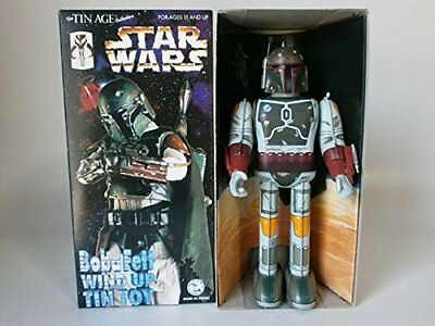 MINT!!! Osaka Tin TOY Star Wars Boba Fett George Lucas clockwork Vintage  Retro