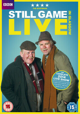 Still Game: Live in Glasgow DVD (2014) Ford Kiernan cert 15 Fast and FREE P & P