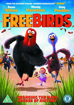 Free Birds DVD (2014) Jimmy Hayward cert U Incredible Value and Free Shipping!