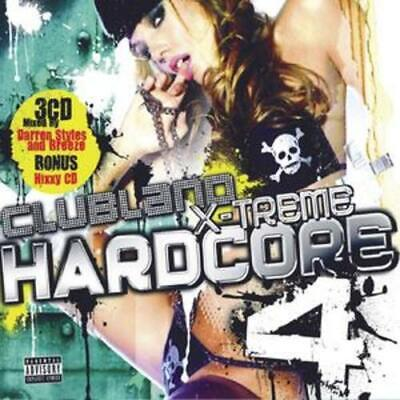 Various Artists : Clubland Xtreme Hardcore - Volume 4 CD 3 discs (2007)