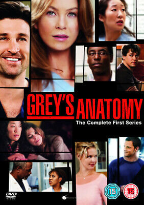 Grey's Anatomy: Complete First Season DVD (2006) Ellen Pompeo