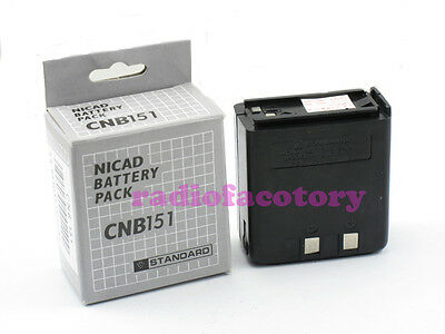 Ni-CD Battery Pack for Standard Horizon/Vertex Radio C628A C558A AT201 AT200