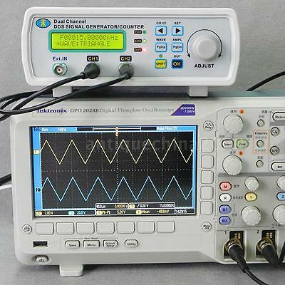 MHS-5200A High Precision Digital DDS Signal Generator/Counter 25MHz 2CH New 4R79