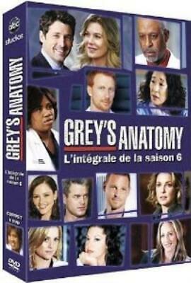 Greys Anatomy, saison 6 - Coffret 6 DVD DVD Incredible Value and Free Shipping!