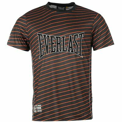***rrp £19.99*** Everlast Poly T-Shirt - Striped ***clearance Prices***