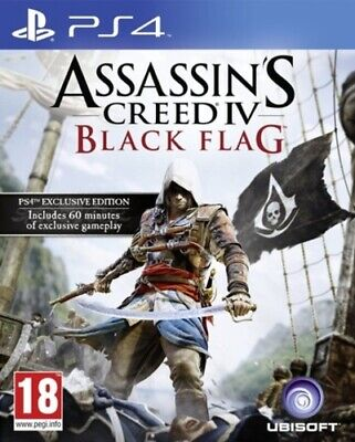 Assassin's Creed IV: Black Flag (PS4) VideoGames