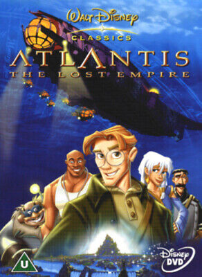 Atlantis - The Lost Empire DVD (2002) Gary Trousdale cert U Fast and FREE P & P