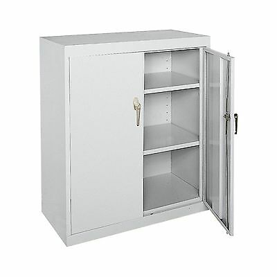"office  or warehouse  Welded Steel Storage Cabinet - 36""W x 18""D x 42""H -NEW..!!"