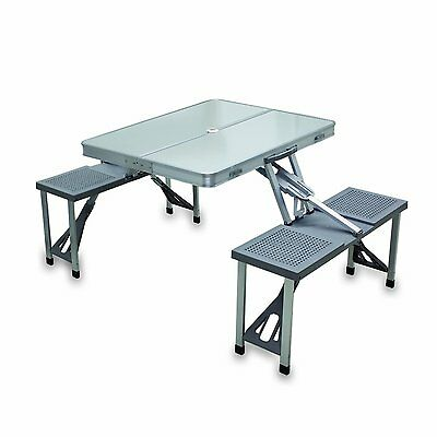 Picnic Time 801-00-133-000-0 Portable Folding Table with (801-00-133-000-0)  CXX