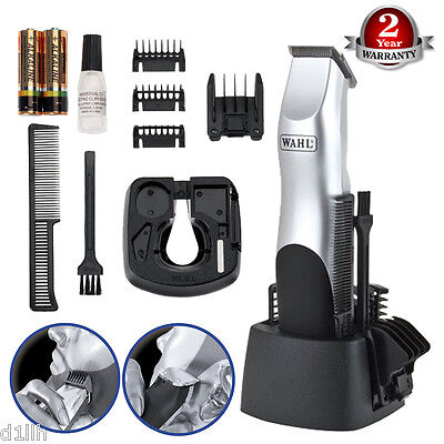 Wahl 9906-708 Groomsman Battery Operated Hair Trimmer Kit for Men's - Brand New
