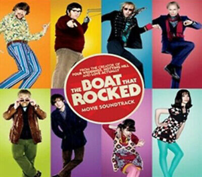 Various Artists : The Boat That Rocked CD (2009)