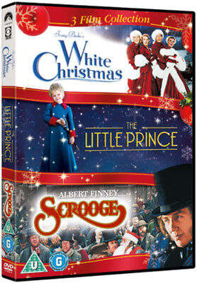 White Christmas/The Little Prince/Scrooge DVD (2012) Bing Crosby ***NEW***