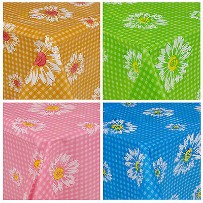 Plastic Summer Tablecloth Rectangle Reusable Table Cloth Tableware Outdoor New