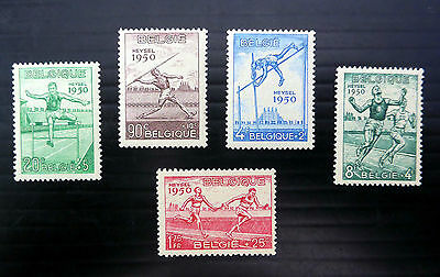 BELGIUM 1950 Sports (5) SG1311/15 Lightly Mounted Mint NEW LOWER PRICE FP5289