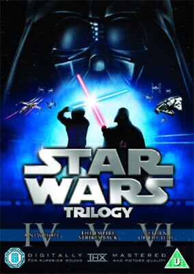 Star Wars Trilogy: Episodes IV, V and VI DVD (2008) Mark Hamill