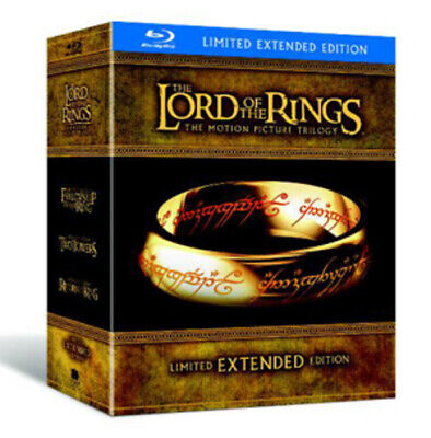 The Lord of the Rings Trilogy: Extended Versions Blu-ray (2011) Elijah Wood