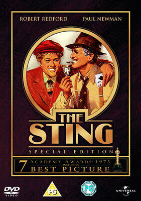 The Sting DVD (2005) Paul Newman, Hill (DIR) cert PG FREE Shipping, Save £s