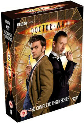 Doctor Who: The Complete Third Series DVD (2007) David Tennant