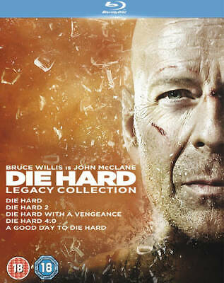 Die Hard: 1-5 Legacy Collection Blu-Ray (2013) Bruce Willis