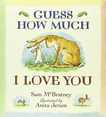 Guess How Much I Love You by McBratney, Sam Paperback Book The Cheap Fast Free