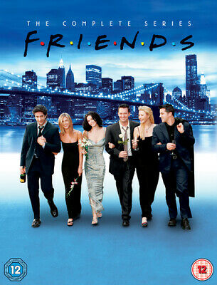 Friends: The Complete Series DVD (2009) Jennifer Aniston cert 12 40 discs