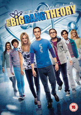 The Big Bang Theory: Seasons 1-6 DVD (2013) Johnny Galecki