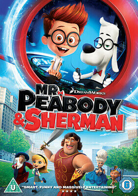 Mr. Peabody and Sherman DVD (2014) Rob Minkoff