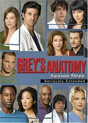 Greys Anatomy: Complete Third Season Dvd