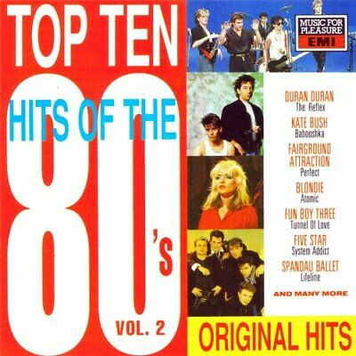 Various : Top Ten Hits Of The 80s Vol. 2 CD Incredible Value and Free Shipping!