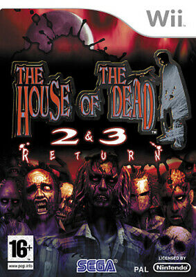 House of the Dead 2 & 3 Return (Wii) Nintendo Wii