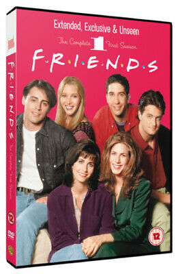 Friends: Season 1 - Extended Cut DVD (2010) Jennifer Aniston cert 12 4 discs