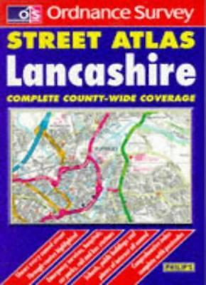 Ordnance Survey Lancashire Street Atlas (Ordnance Survey/ Phili .9780540064434